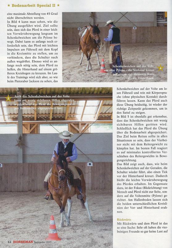 Horseman 09/2015 - Vom Boden in den Sattel