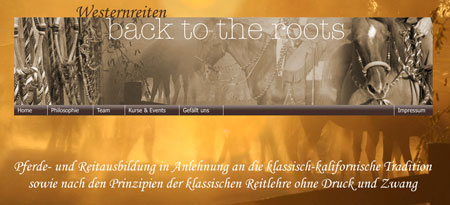 Westernreiten - back to the roots