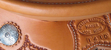Custom Made Saddles by Joe Houf Saddlery